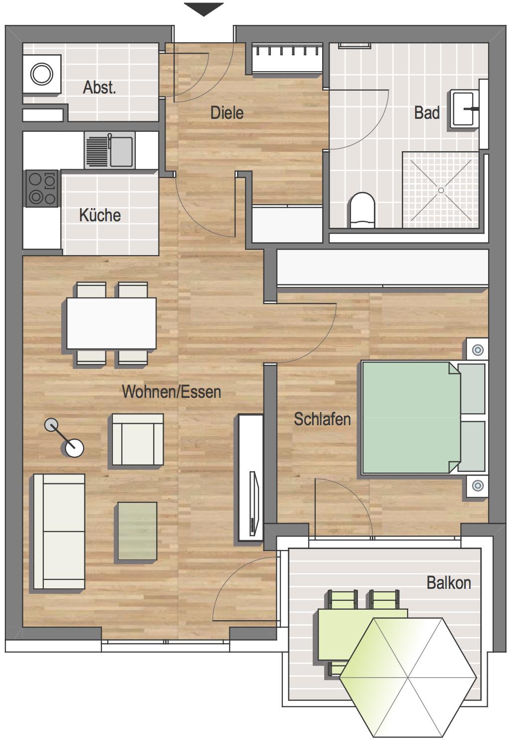 grundrissbeispiele seniorenresidenz idstein hsb bautr ger und immobilien gmbh. Black Bedroom Furniture Sets. Home Design Ideas